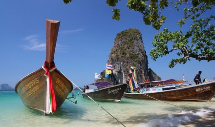 Пляж Phra Nang, Railay, Таиланд
