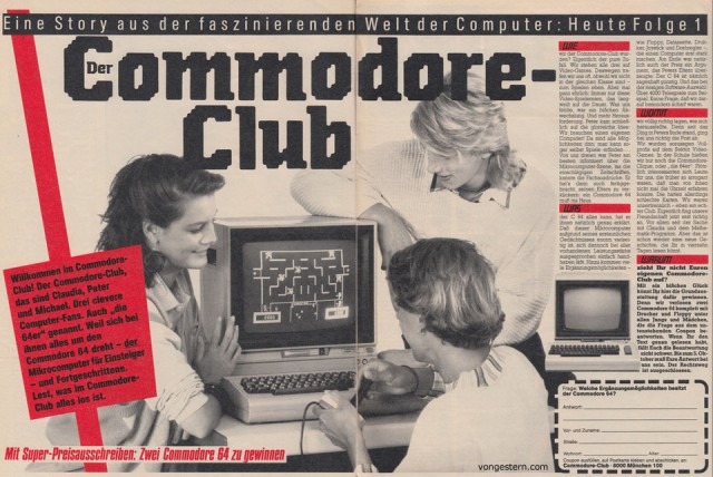 Commodore 64, 1985