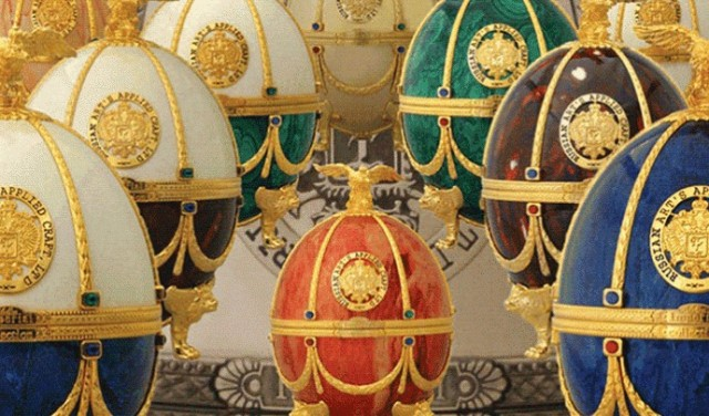 Imperial Collection Vodka Fabergй-Eggs